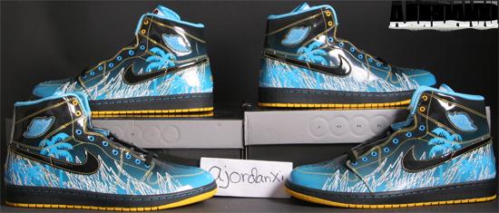 Air Jordan I Retro High DB Black Vivid Blue-White-Varsity Maize (2009) 69d70eeab