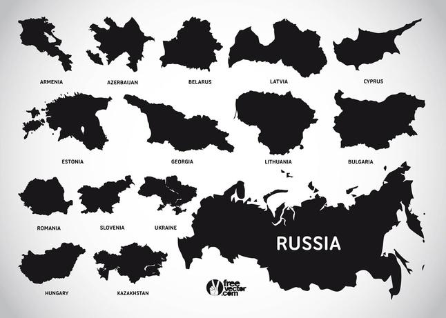 Free Vector European Countries