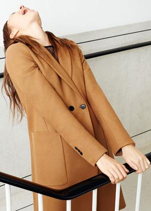 abrigo mujer de Zara