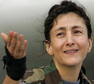 Ingrid Betancourt luego de su liberación