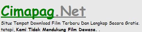 WWW.CIMAPAG.NET - TEMPAT DOWNLOAD FILM TERBARU 2015 GRATIS
