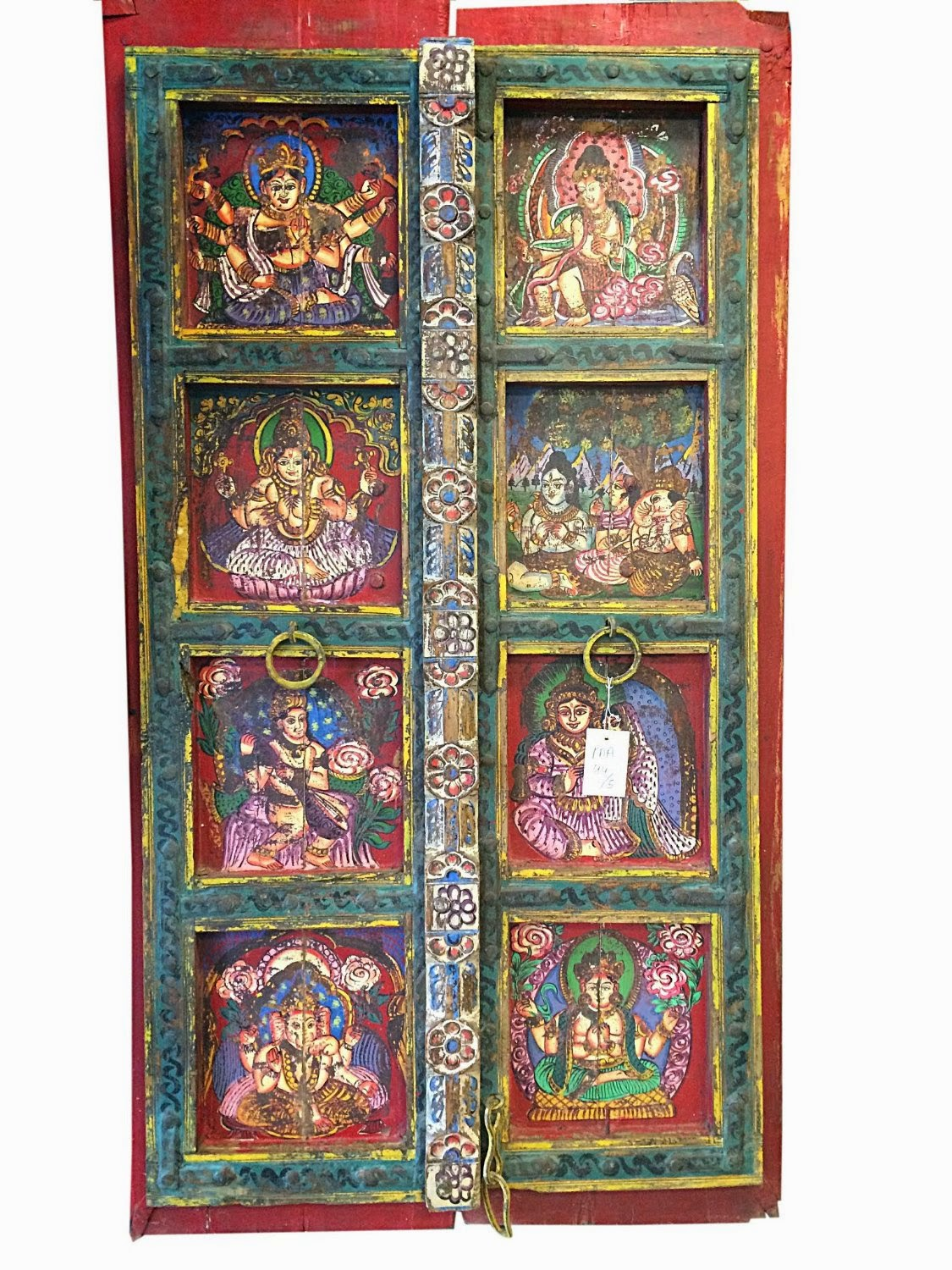Indian Antique Furniture #furniture #vintage #rustic #indian #jaipur #panel  #door #cabinet #wooden