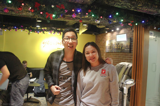 Renz Cheng in Yesinn Hotel