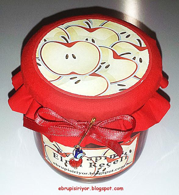 elma reçeli,hediye reçel