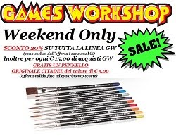 GW OFFERTA WEEKEND