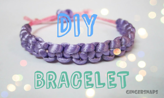 DIY bracelets how to make square knot bracelets Frienship day gift ideas