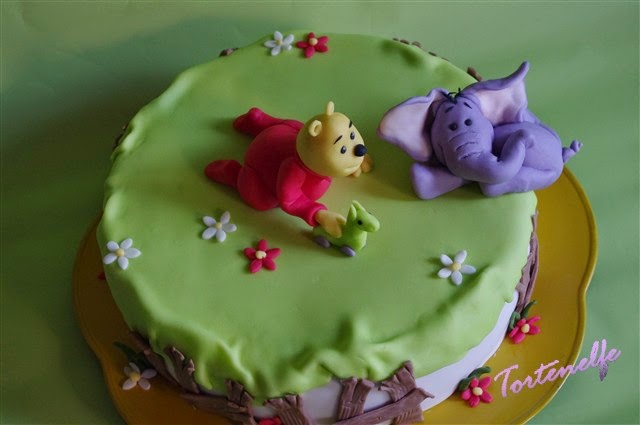 Tortenelfes Blog  Backe Backe Kuchen   Winnie Pooh Motivtorte