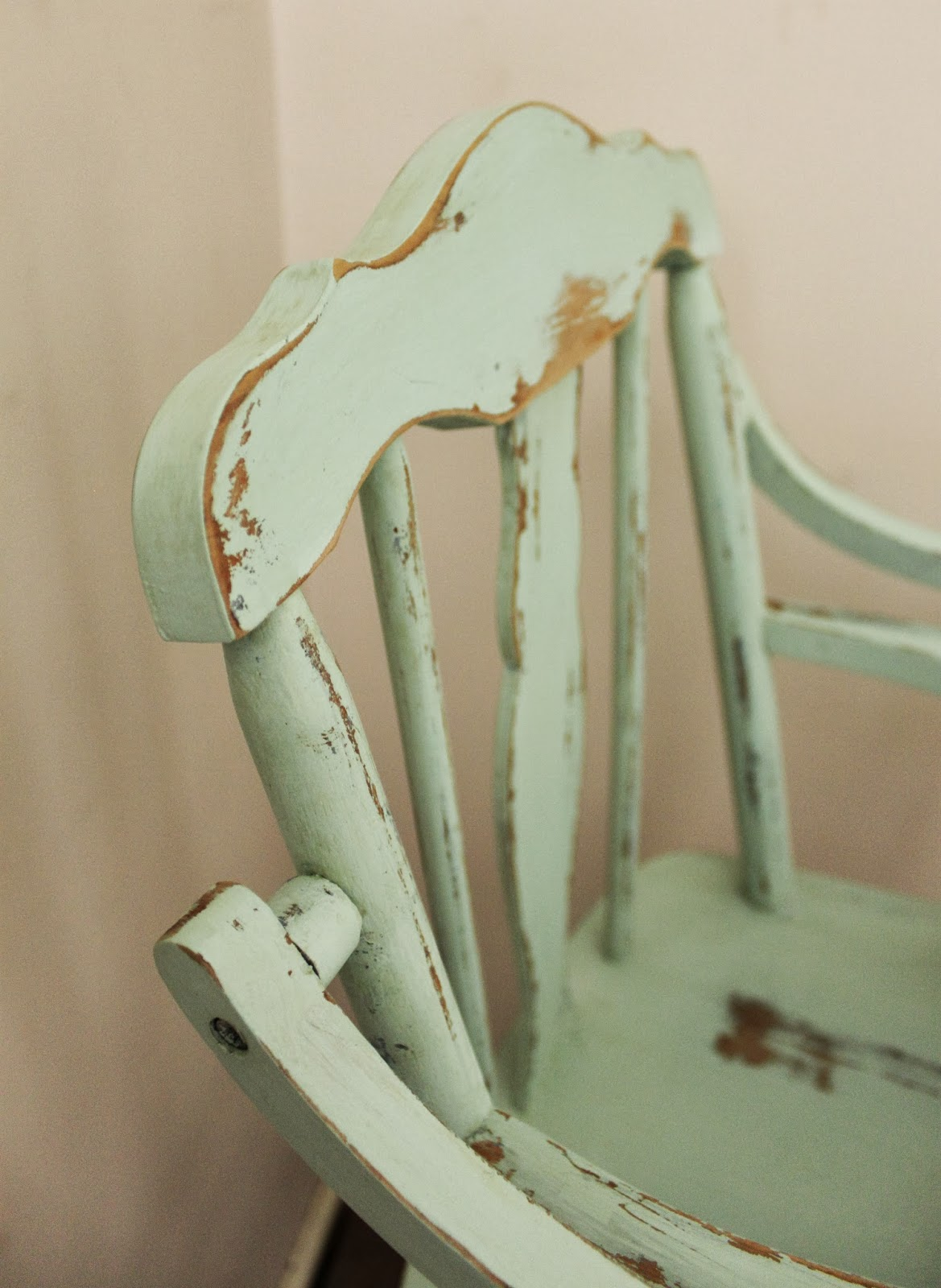 Namely Original Vintage Painted High Chairs