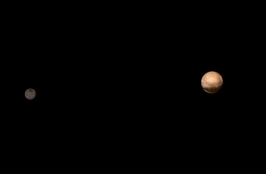 Plutão é maior do que o previsto sonda da Nasa diz
