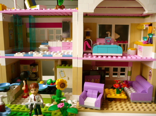 la bo te bazar la villa lego friends. Black Bedroom Furniture Sets. Home Design Ideas