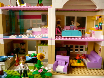 la bo te bazar la villa lego friends. Black Bedroom Furniture Sets. Home Design Ideas