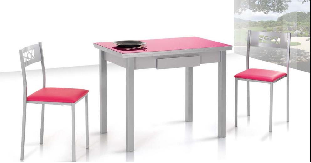 Mesa de cocina skiper 12 colores a buen precio reformas for Precios de mesas de cocina