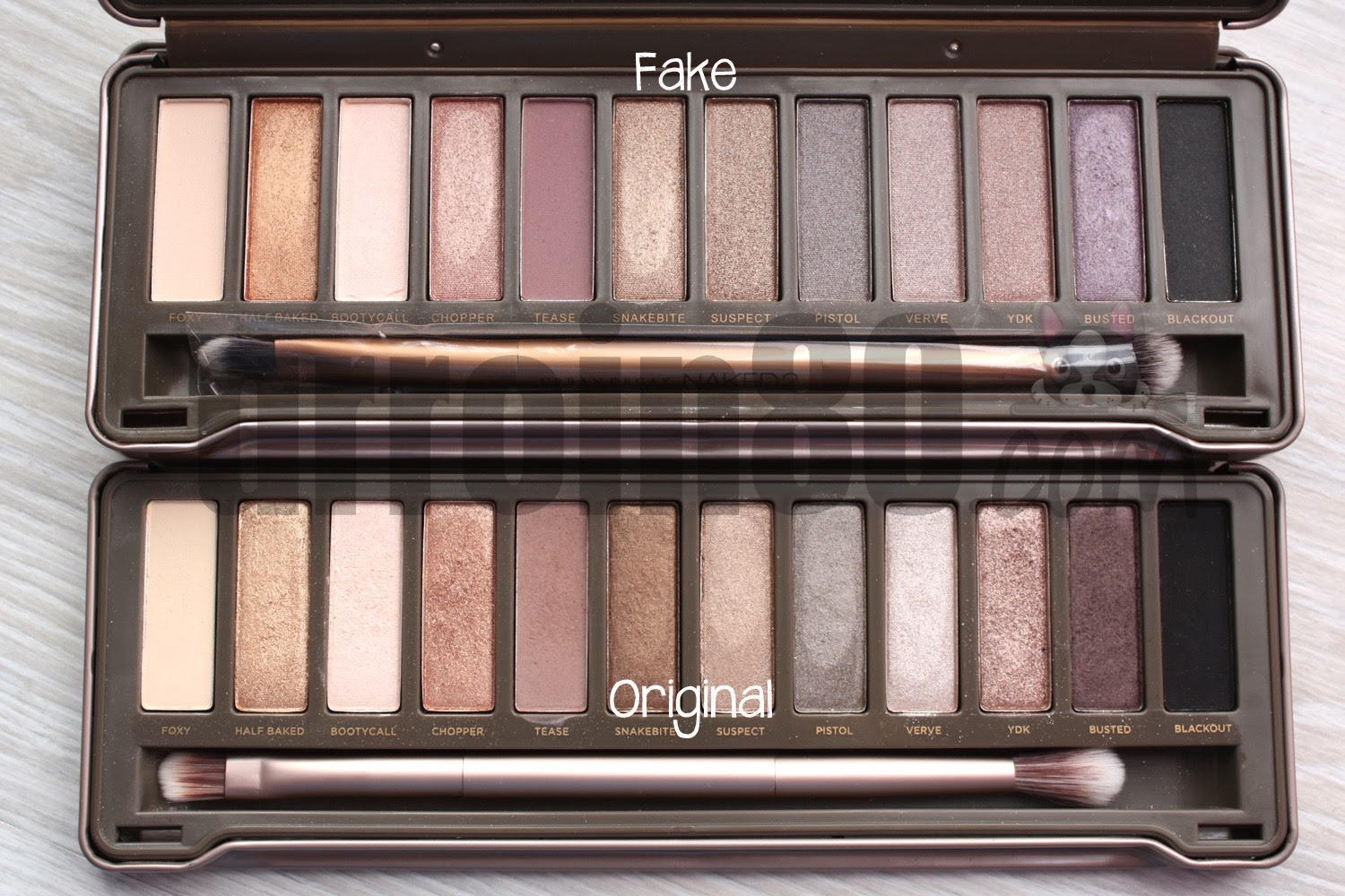 Beauty: Naked original palette review - THE STYLING DUTCHMAN.