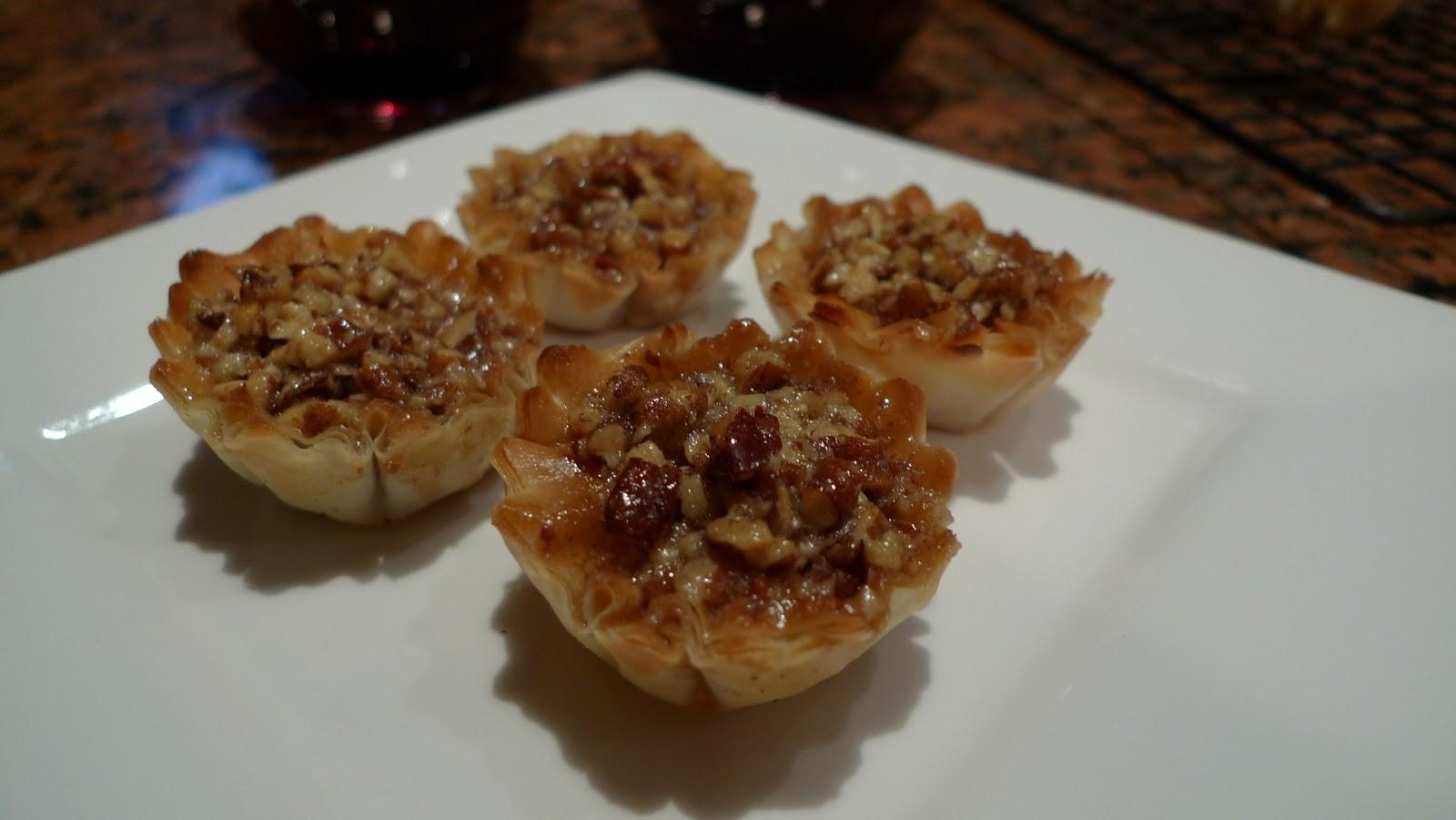 ... 10 15 minutes these mini pecan phyllo tarts mini pecan phyllo tarts