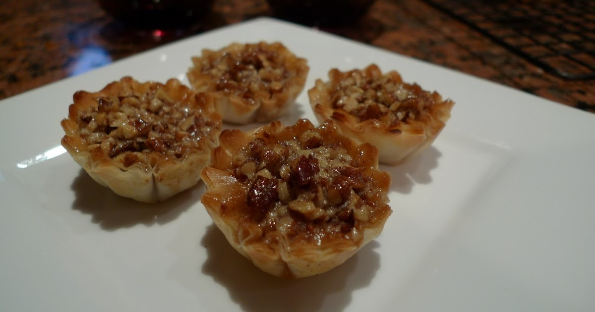 Mingling of Tastes: Mini Pecan Phyllo Tarts