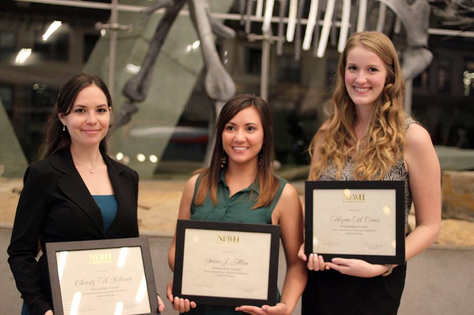 Interior Design Blog Unt Interior Design Student Recipients Of Newh Scholarships Attended Banquet
