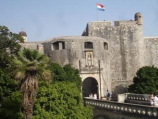 Puerta de Pile en Dubrovnik