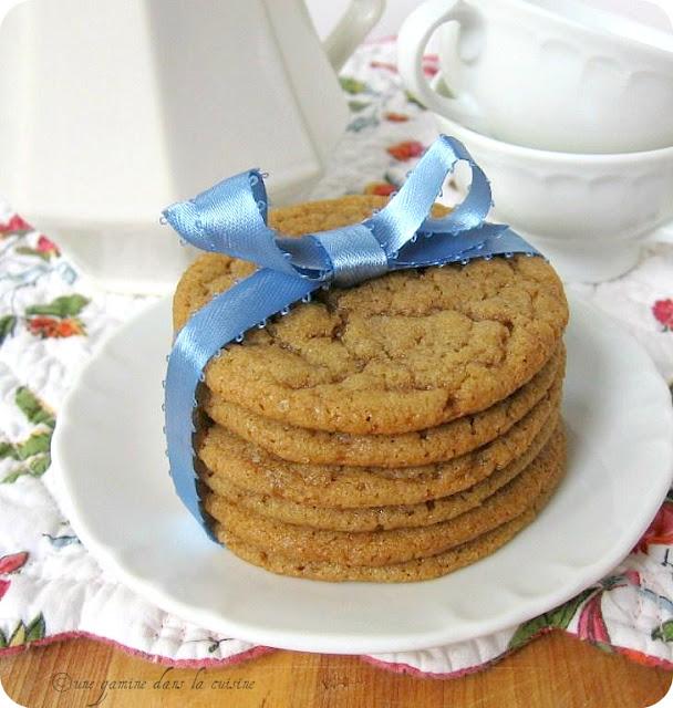une gamine dans la cuisine: Spiced Brown Sugar Cookies