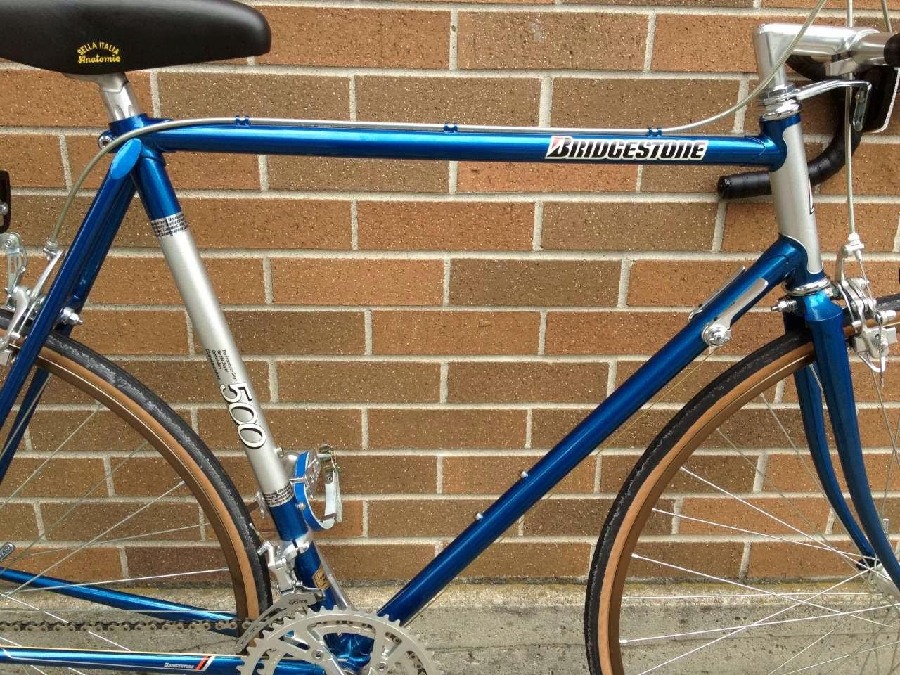 Bike Boom Refurbished Bikes 1985 Bridgestone 500 Road Bike