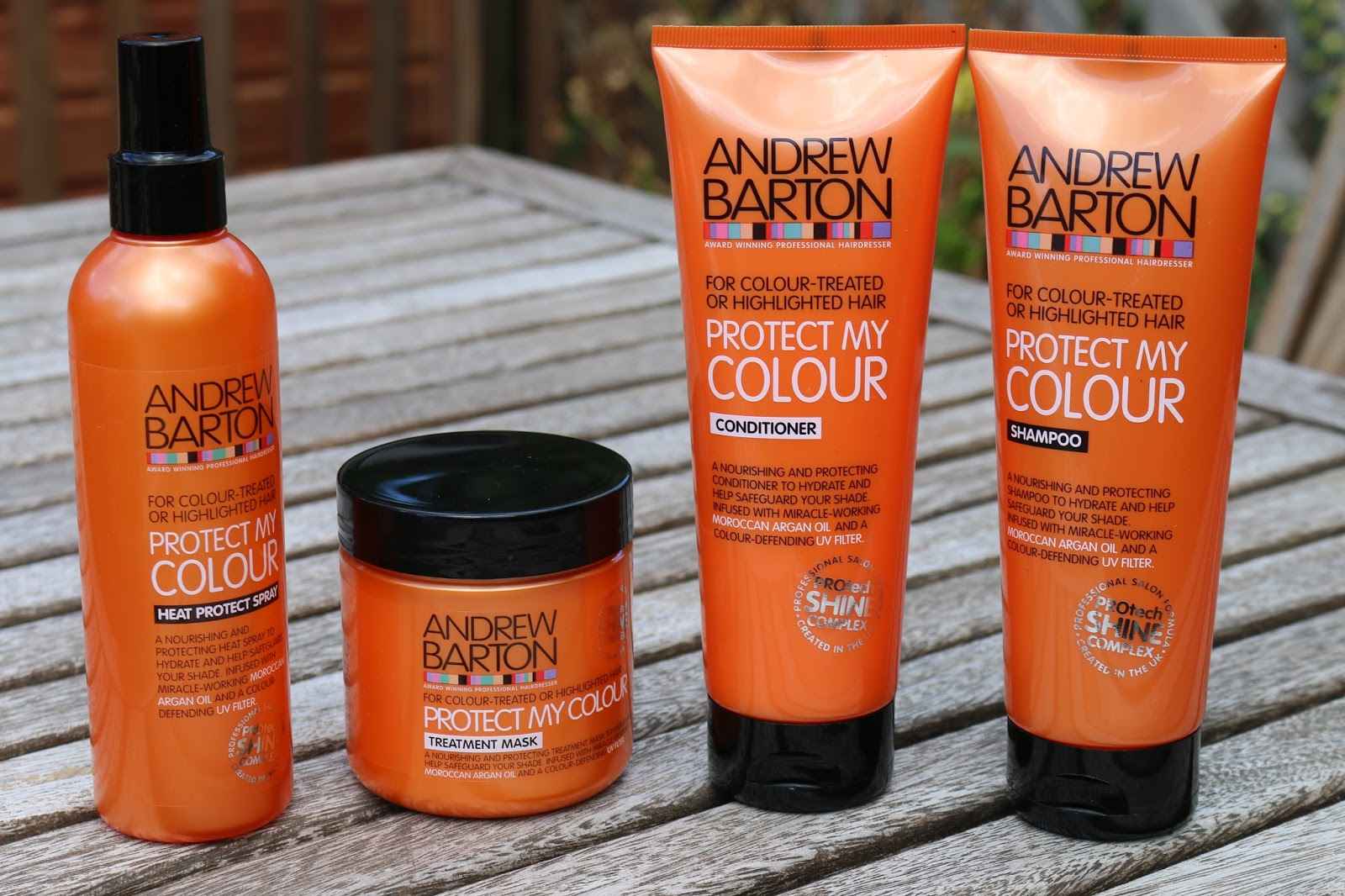 Andrew Barton Protect My Colour Collection, Keeping Red Hair