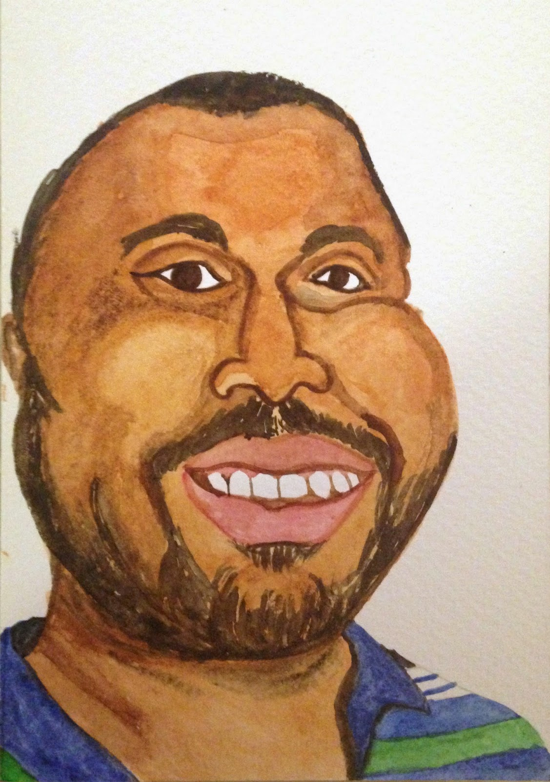 Portrait of Eric Garner