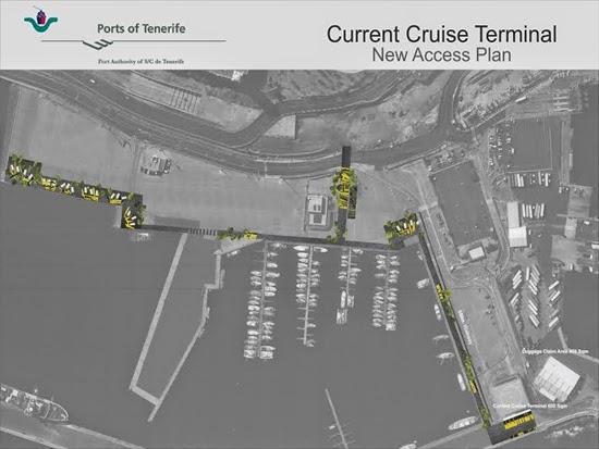 importante mejora en la prestación de los servicios portuarios vinculados al tráfico de cruceros.