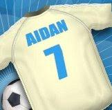 Aidan's Soccer Shirt