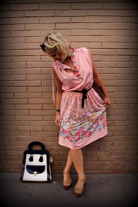 summer fashion vintage dress