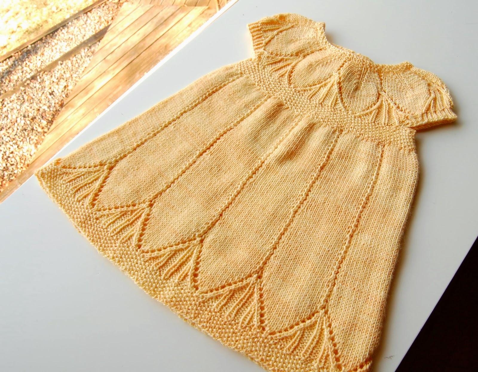 Clara Dress Knitting Pattern : KnitterNutter: April 2014