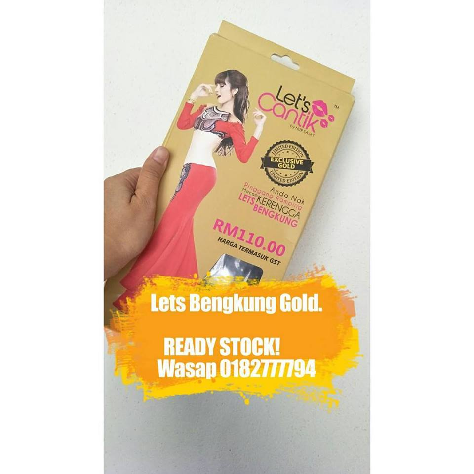 LETS BENGKUNG GOLD  SAJAT