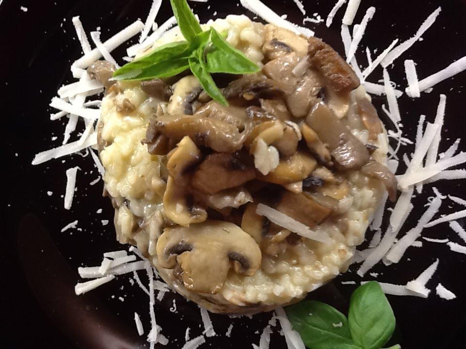 Cocinando voy recetando vengo risoto con setas for Cocinar 6 tipos de arroz