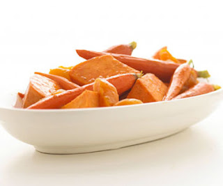 Maple Orange Sweet Potatoes
