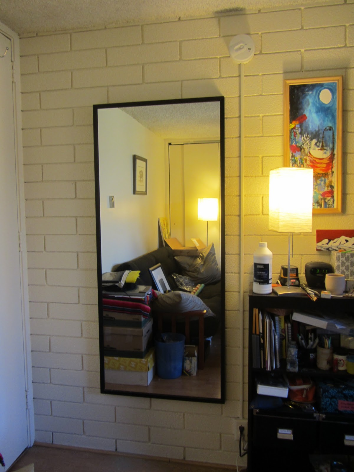 Mike is Bored: How to hang a picture on a brick or concrete wall