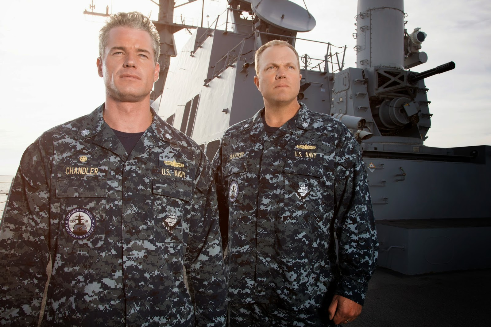 Eric Dane and Adam Baldwin of The Last Ship