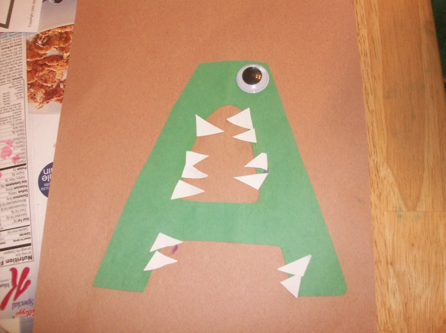 Letter A Art and Crafts for Kids