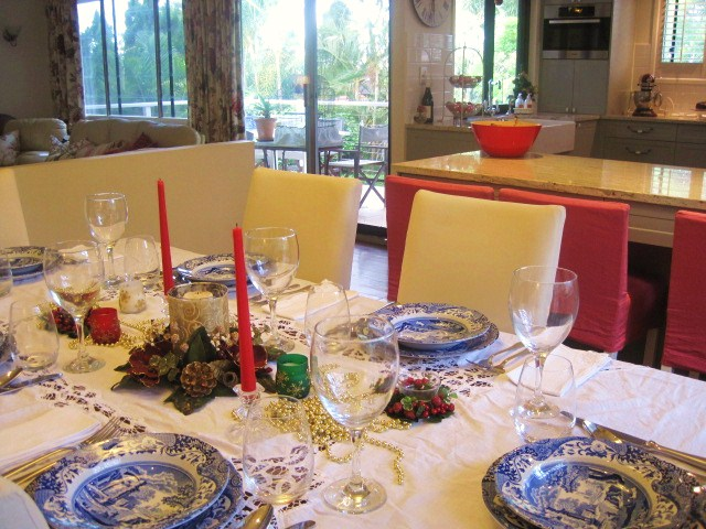 Say G'Day Saturday, Christmas Tablescapes, Natasha in Oz, Christmas