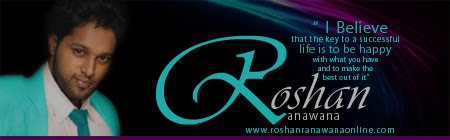 Official Website of Roshan Ranawana