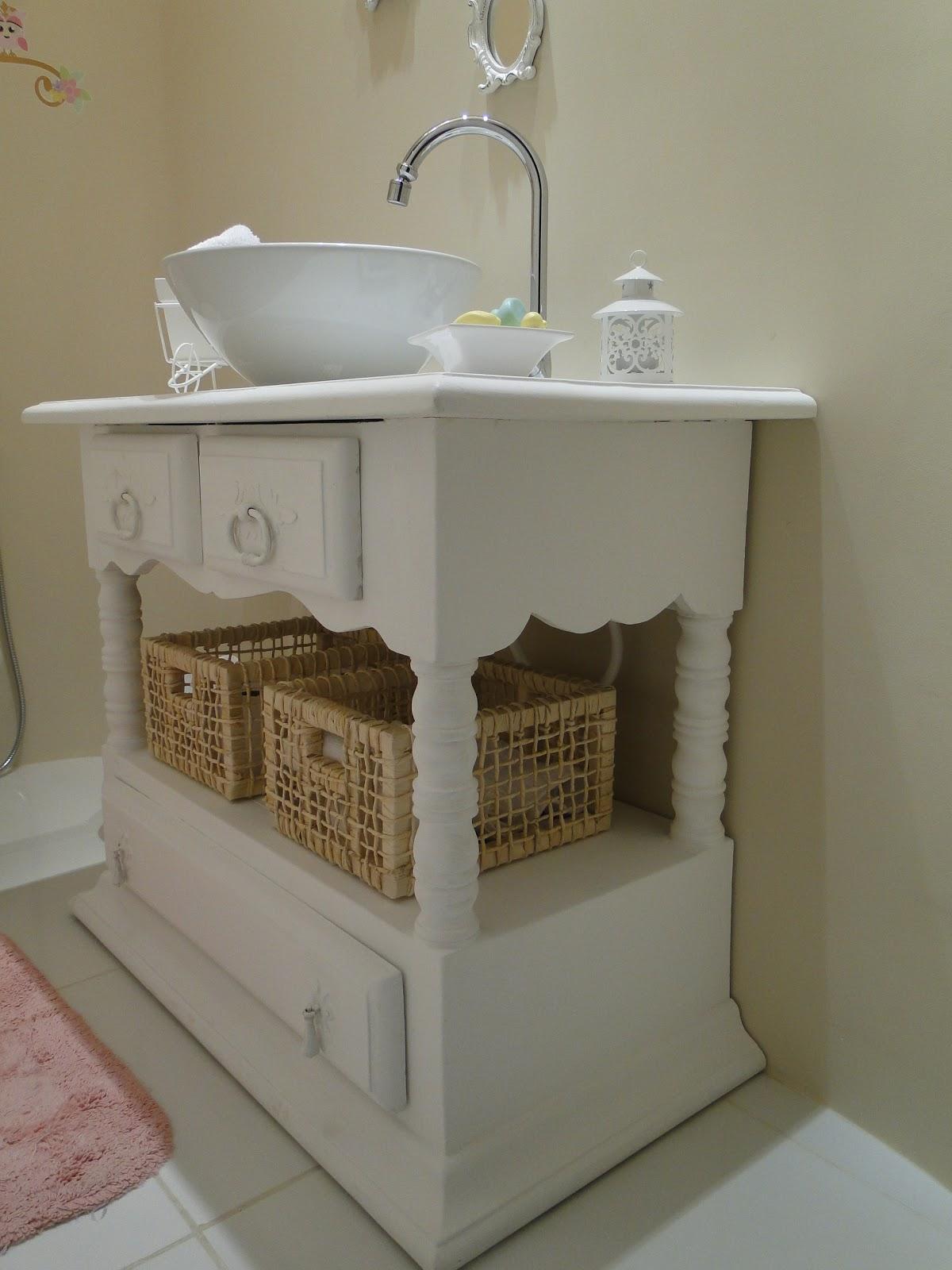 Nosso novo lar !! Lavabo Provençal -> Pia De Banheiro Estilo Provencal