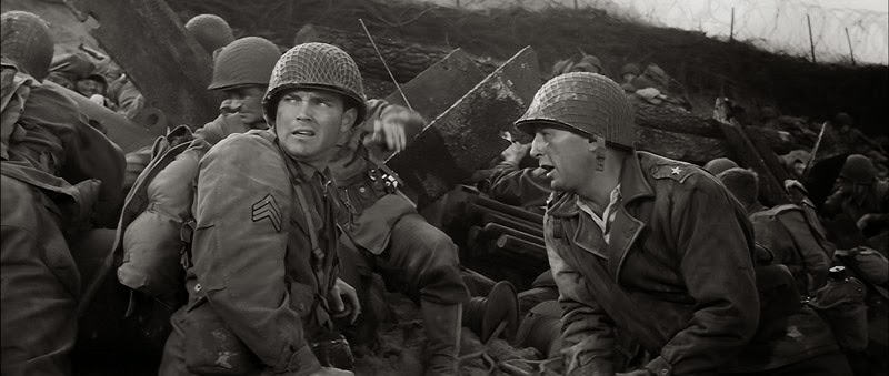 Image result for the longest day movie robert mitchum and jeffrey hunter