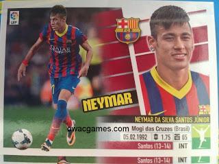Neymar doble imagen