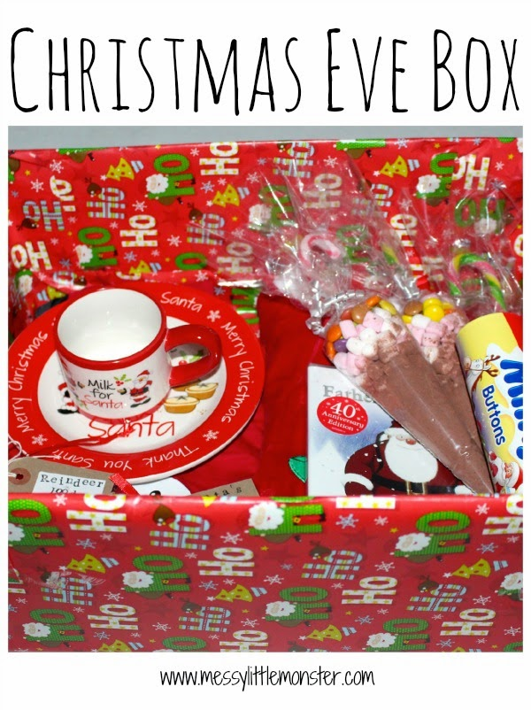 DIY Christmas Eve Box.  What should you add to yours?