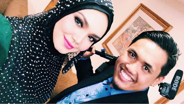 Kaio bersama Siti Nurhaliza