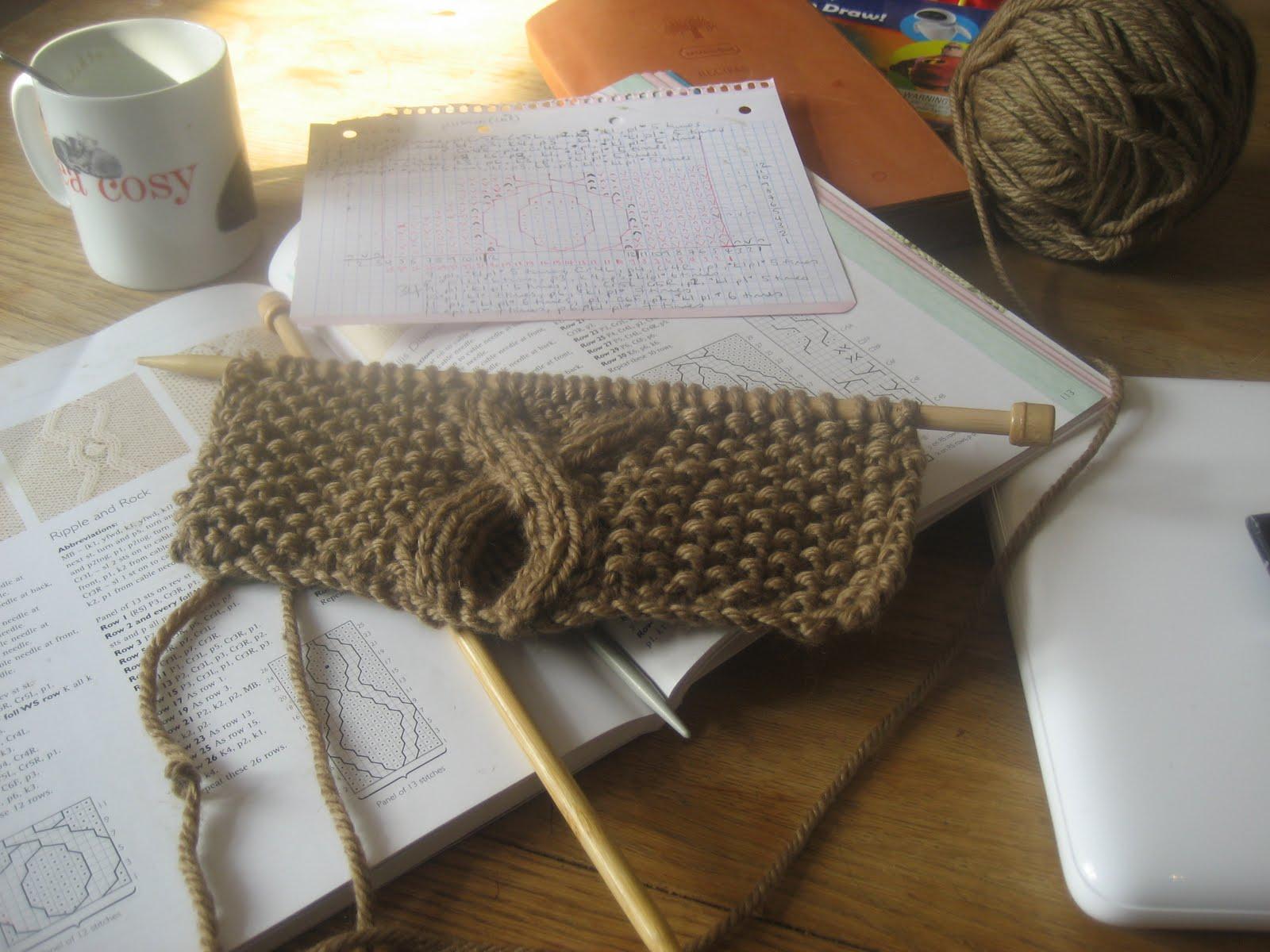 Stitch me Softly...: Infinity Snood - knitting pattern