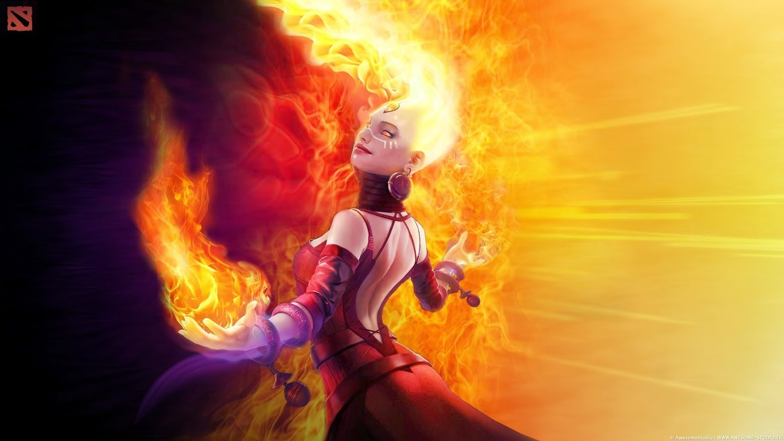 Lina Arcana - Fiery Soul of The Slayer