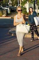 Pamela Anderson hot in  a grey dress