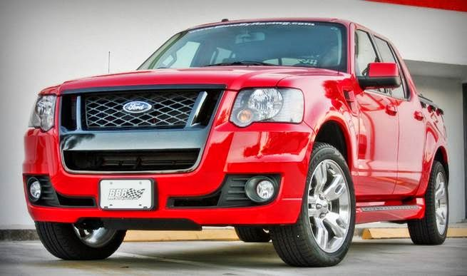 Ford Explorer Sport Trac Adrenalin Review