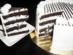 CHOCOLATE WALNUT/ALMOND TORTE CAKE