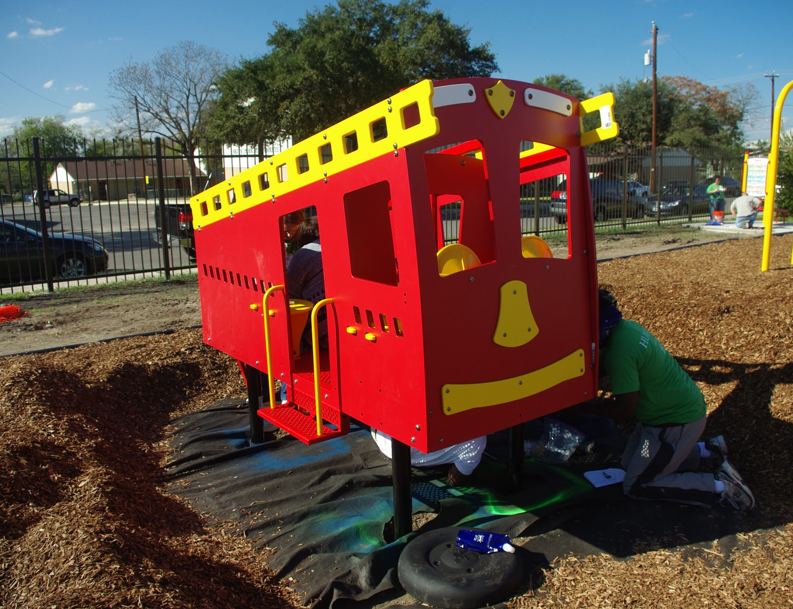 KABOOM! Building Playgrounds/Play Areas Accessible to
