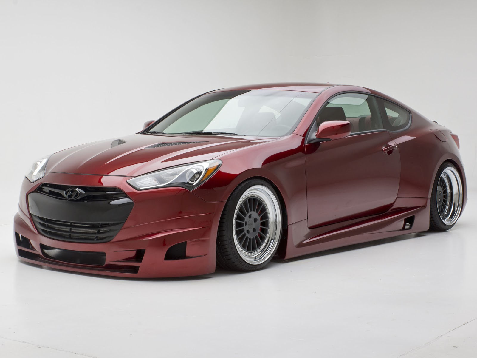 hyundai genesis tuning by sema wallpapers carros. Black Bedroom Furniture Sets. Home Design Ideas