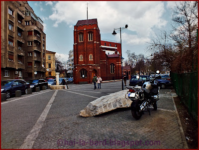 biserica anglicana si motocicleta bucuresti